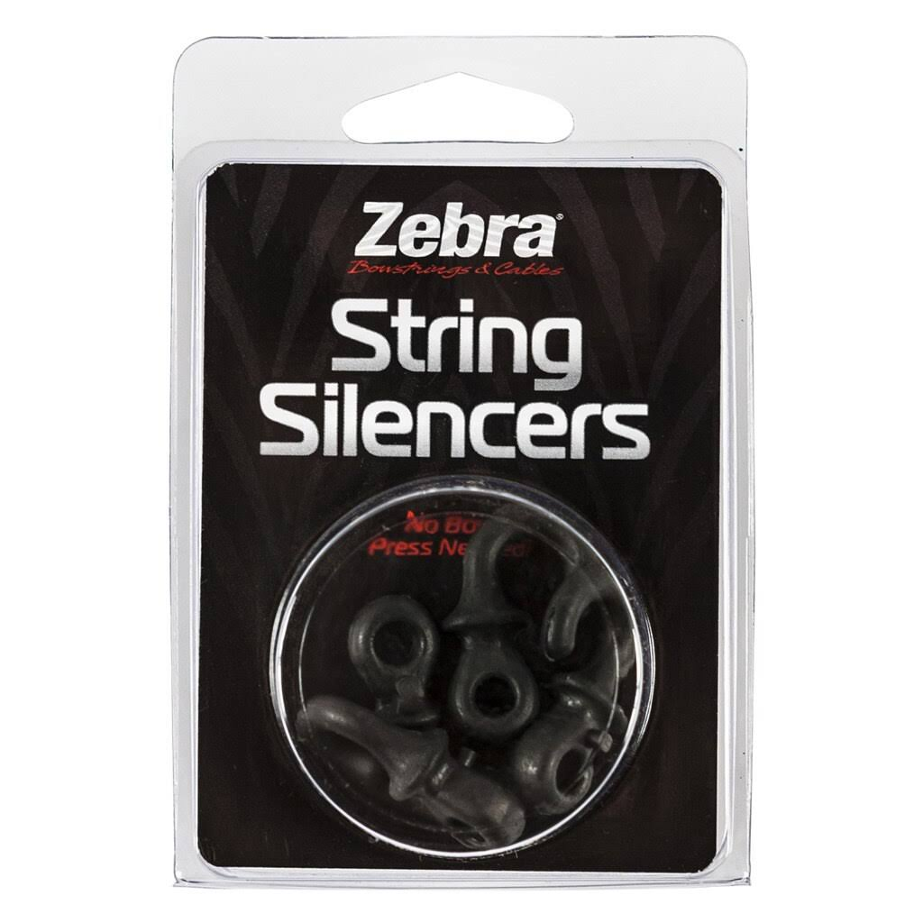 Zebra String Silencer Package - Black 4 Pk.
