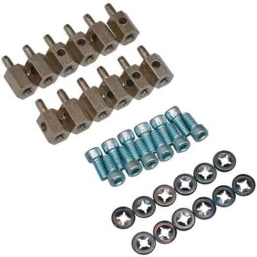 Great Planes GPMQ3876 Connectors Bulk Heavy Duty Screw Lock Set - Set of 12