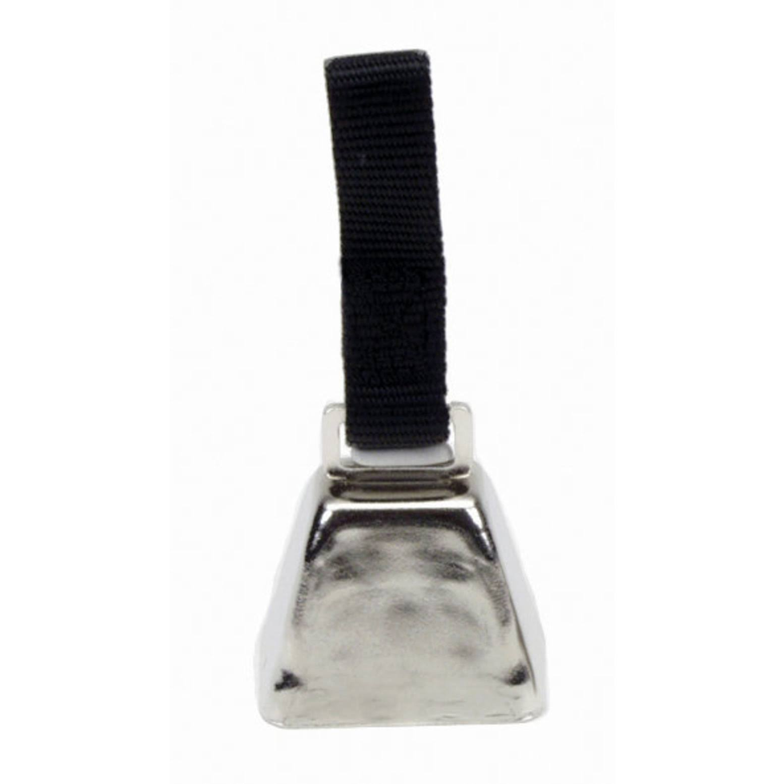 Coastal Pet Dog Training Nickel Cow Bell - with Nylon Strap, Small
