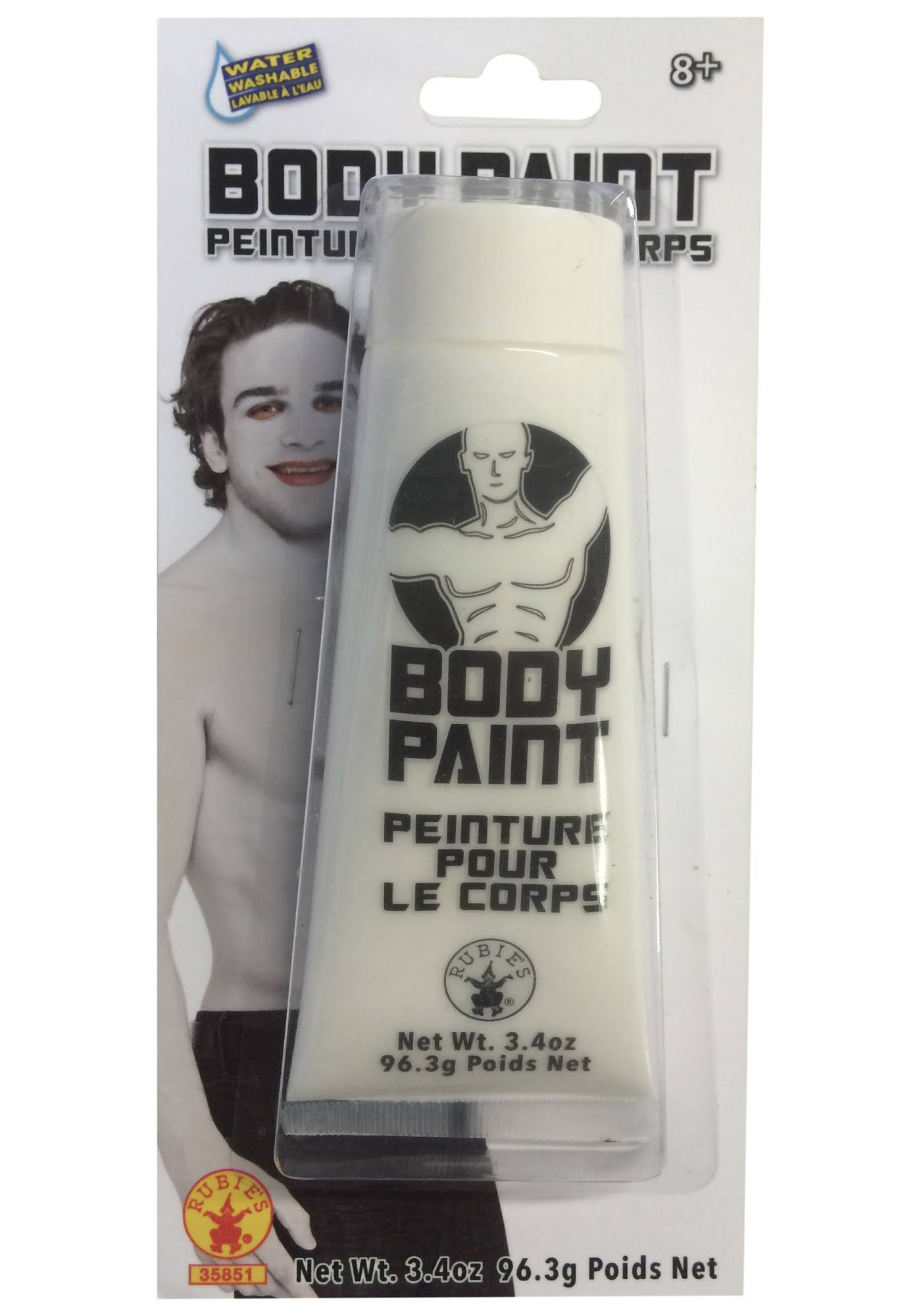 Rubie's Costume Company Men's Body Paint - White