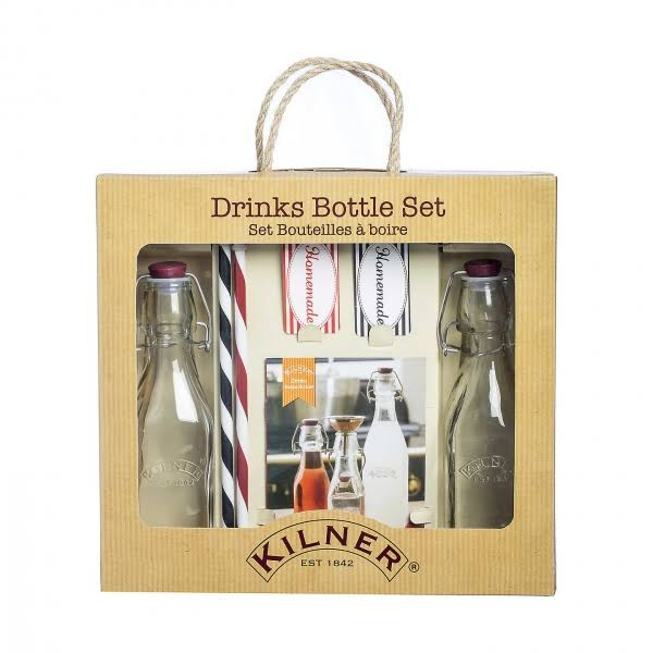 Kilner Drinks Bottle Set - 2 Pack