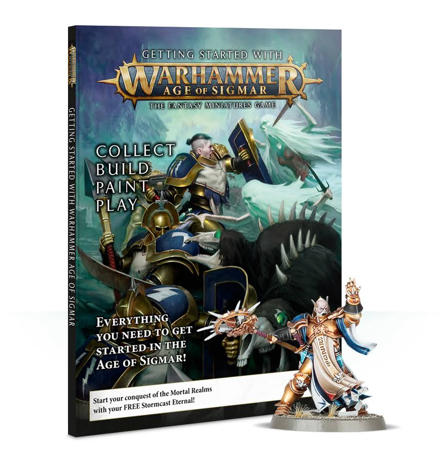 Games Workshop Age Of Sigmar Miniature Game Kit - Triple Helix Wargames
