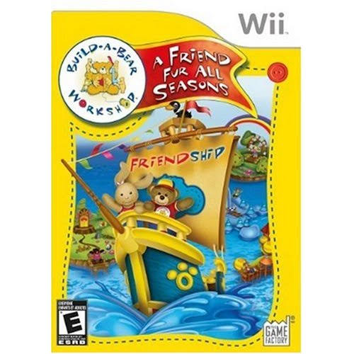 Build A Bear Workshop: A Friend Fur All Seasons - Nintendo Wii