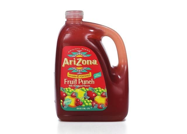 Arizona Fruit Juice Cocktail - Fruit Punch, 128oz