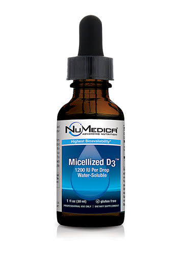 NuMedica Micellized D3 1200­ Dietary Supplement - 30ml