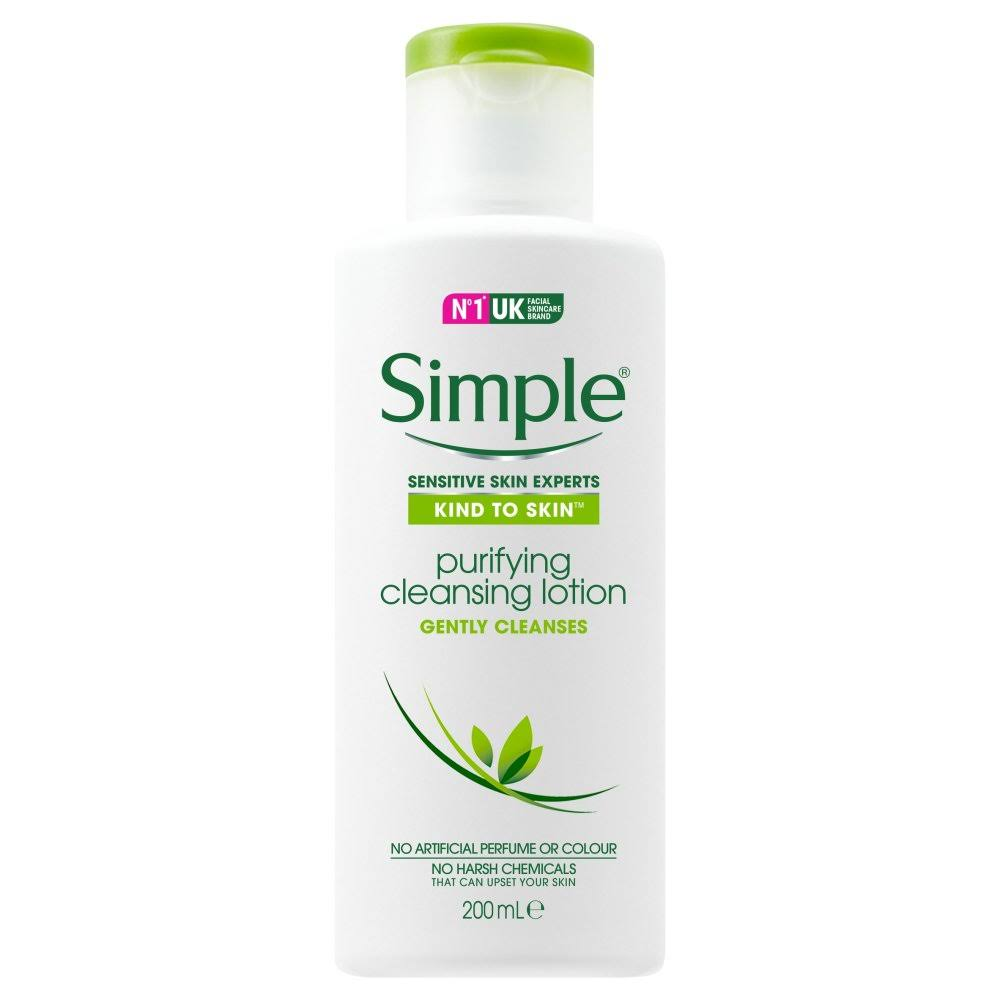 Simple Kind to Skin Purifying Cleansing Lotion 200 ml
