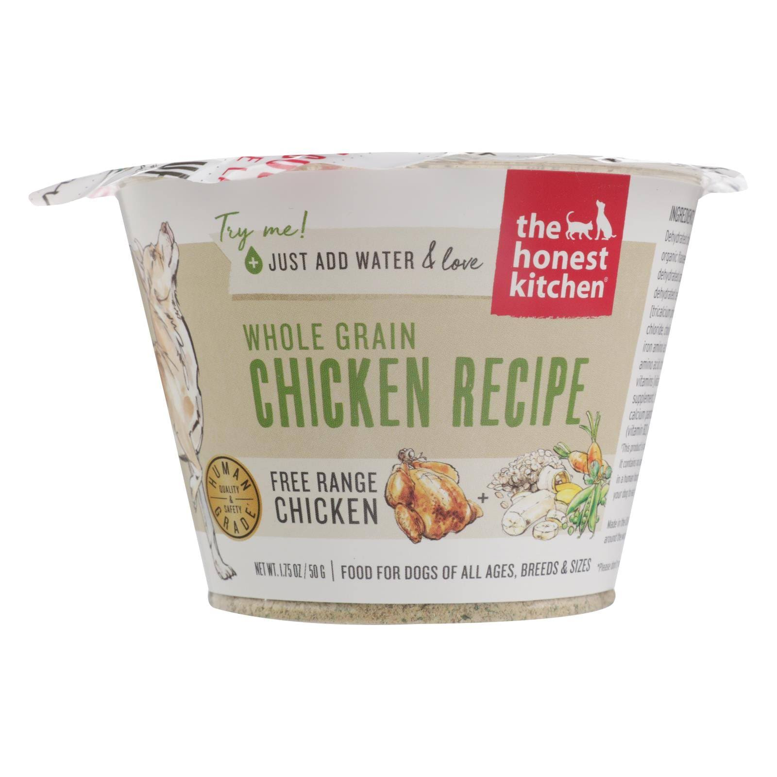 Honest Kitchen Whole Grain Chicken Dehydrated Dog Food, 1.75 oz Trial