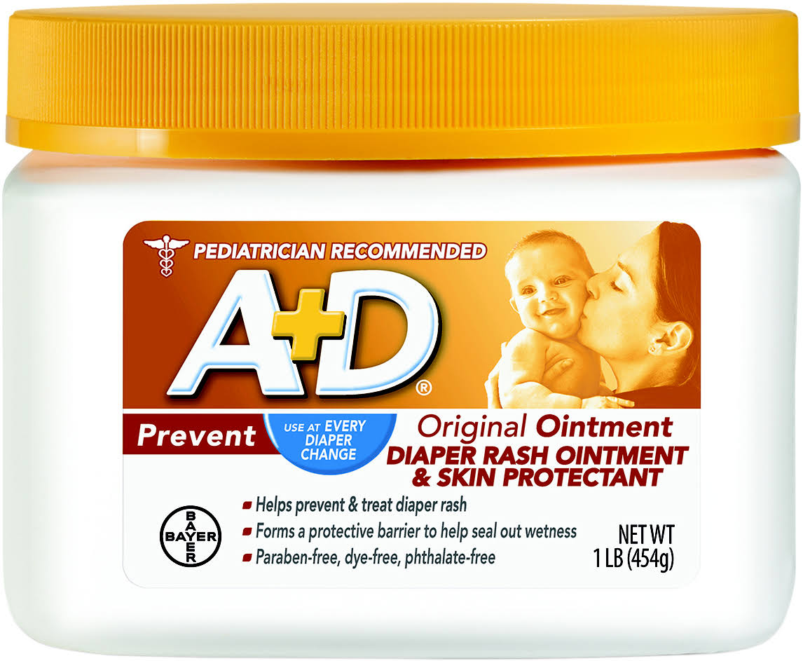 A and D Original Nappy Ointment Jar - 1lb