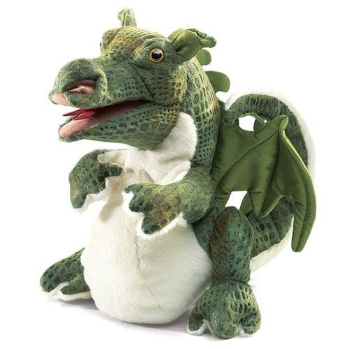 Folkmanis Baby Dragon Hand Puppet