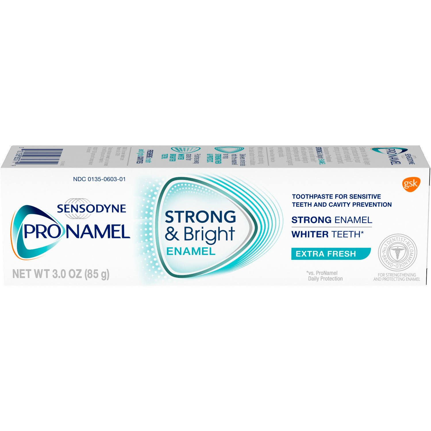 Sensodyne Pronamel Strong and Bright Extra Fresh Toothpaste - 3oz