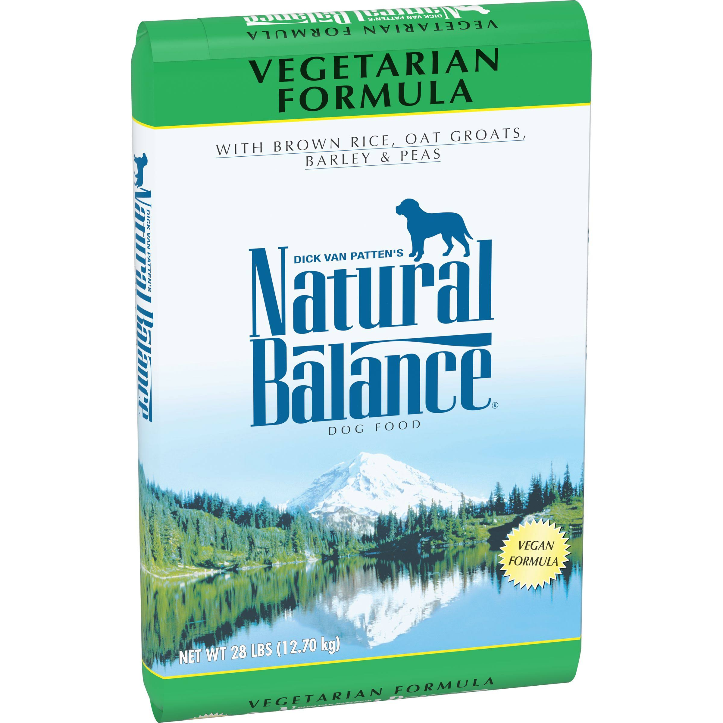 Natural Balance Adult Dog Dry Food - Vegetarian, 28lb