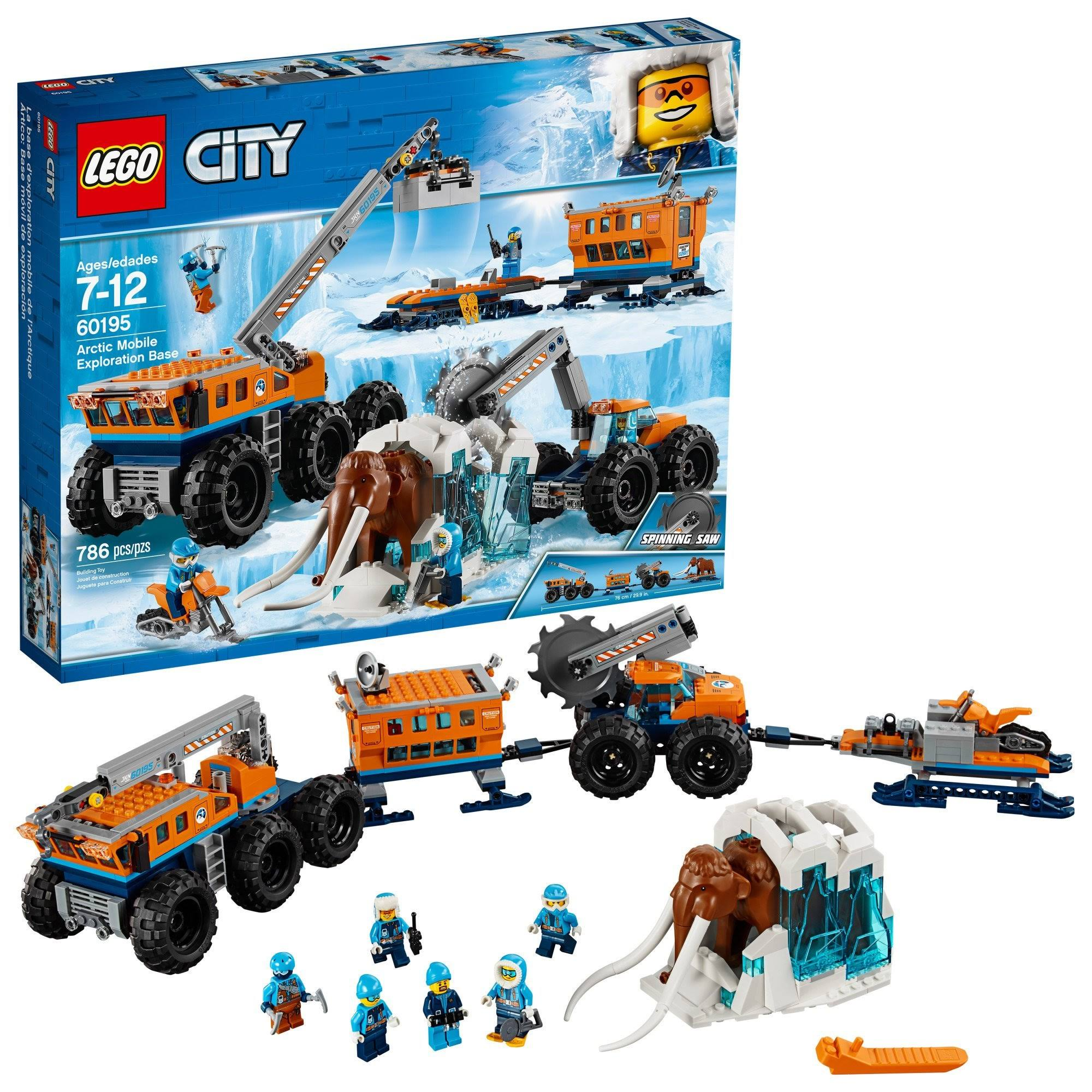 Lego City Arctic Mobile Exploration Base Building Kit - 786pcs