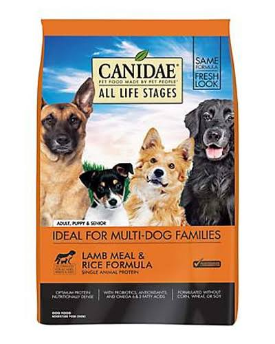 Canidae Pet Foods All Life Stages Lamb Meal and Rice Formula Natural Dog Food
