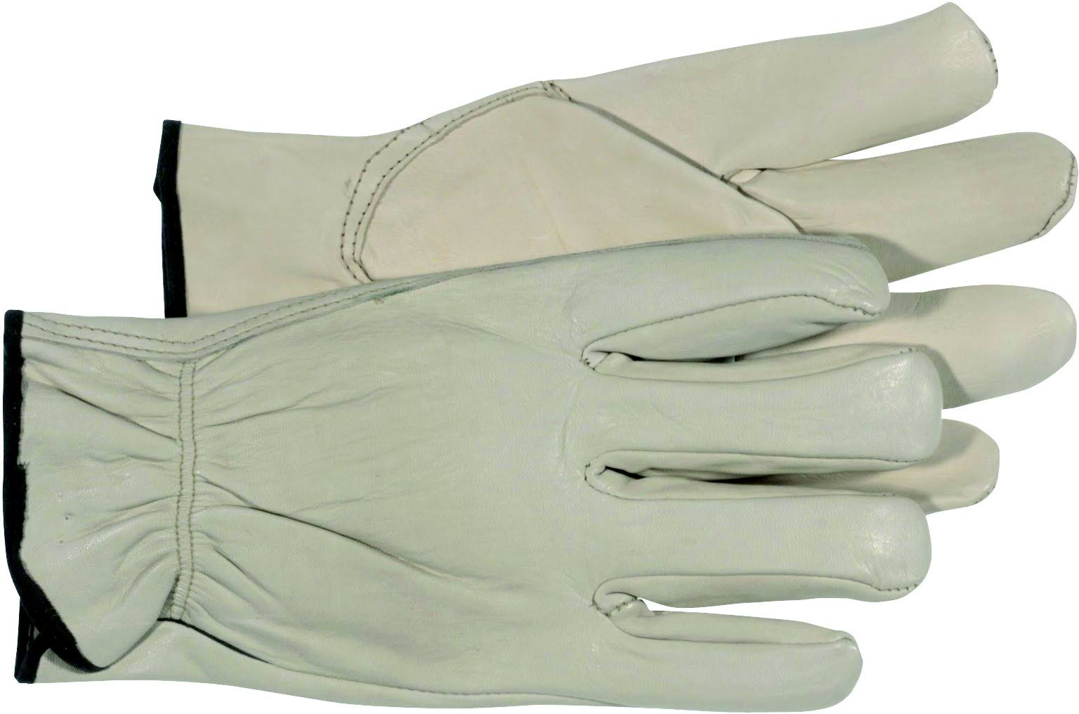 Boss Manufacturing Company 4068 Grain Leather Driver Work Gloves - Medium
