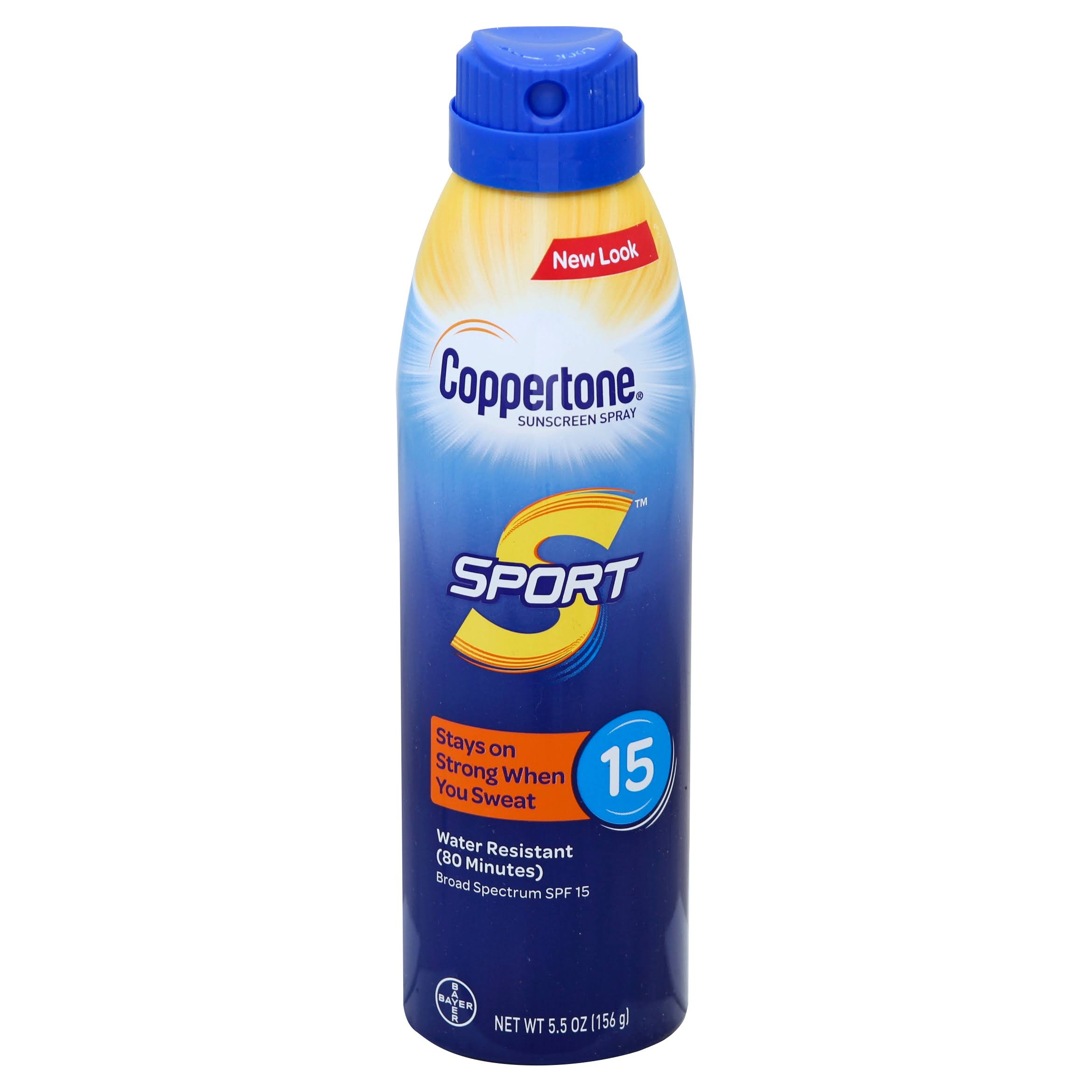 Coppertone Sport Broad Spectrum SPF 15 Sunscreen Spray - 5.5oz