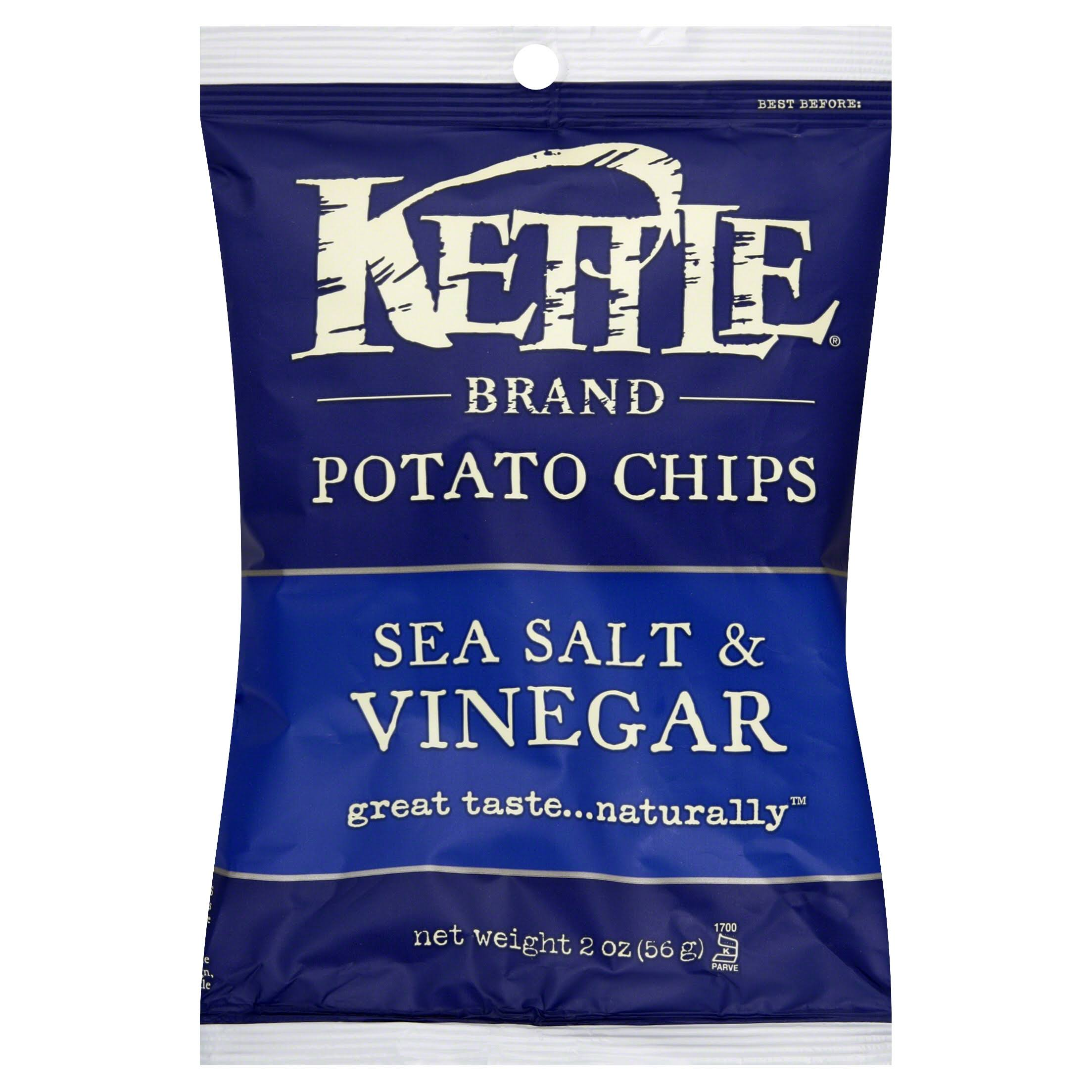Kettle Potato Chips - Sea Salt & Vinegar