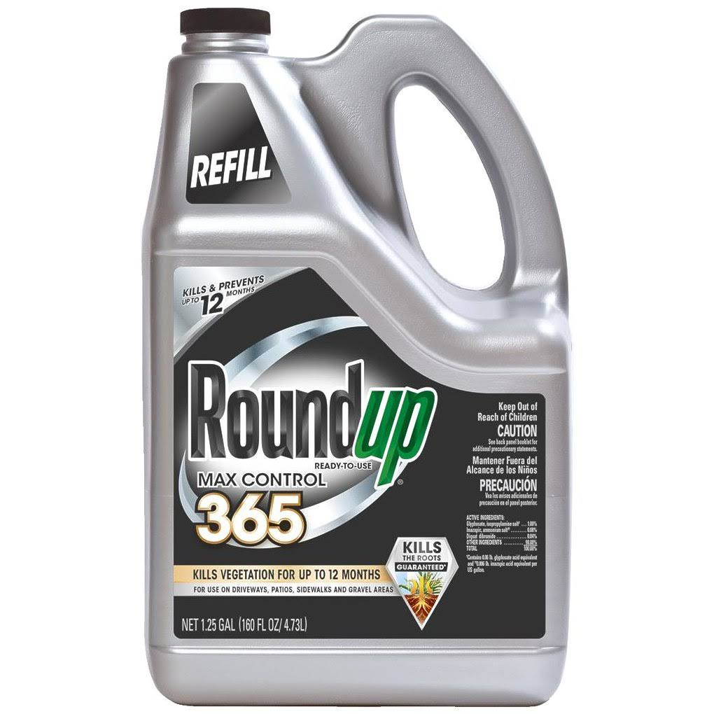 Scott Ortho Roundup 365 Vegetation Killer Refill - 1.25 Gallon