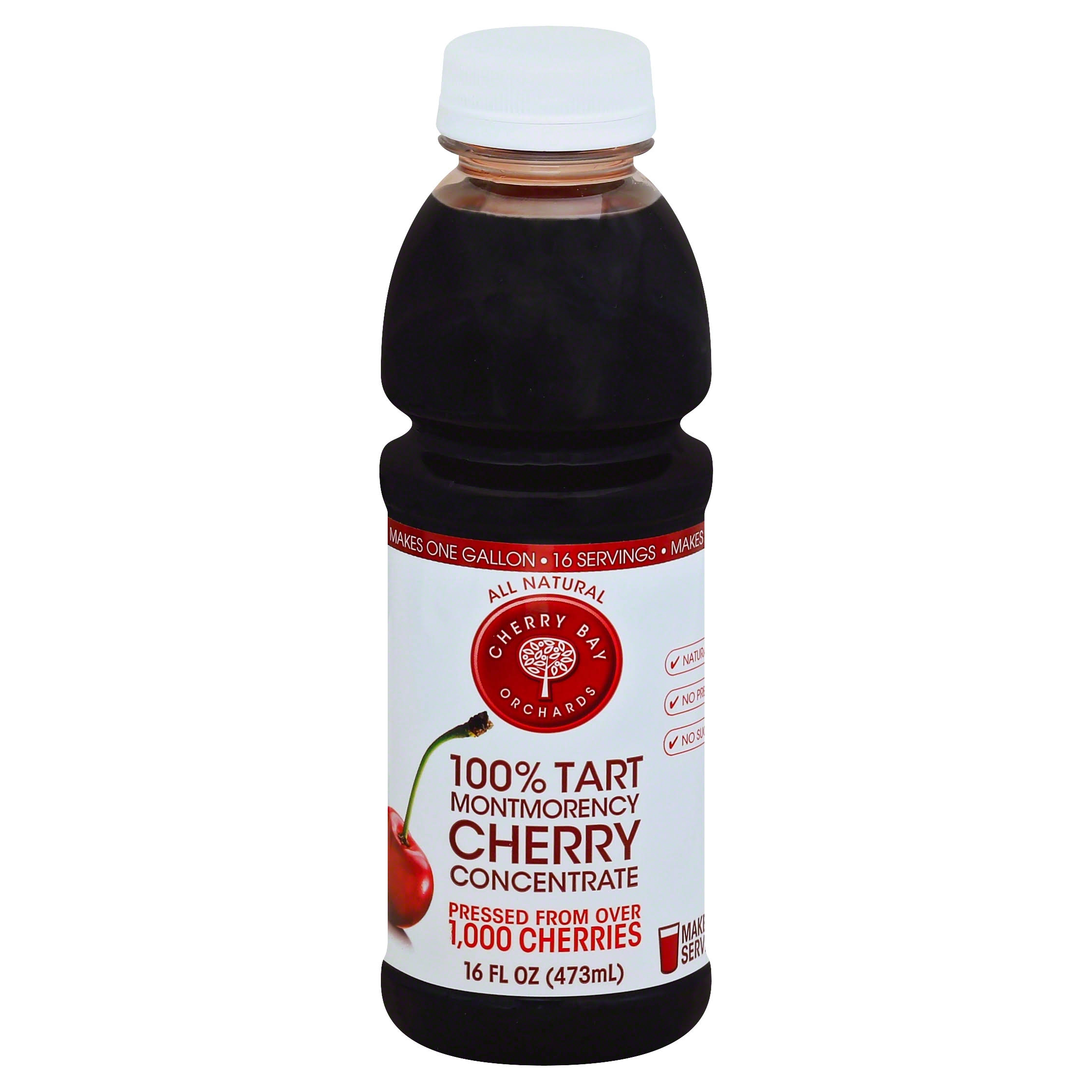 Cherry Bay Orchards Tart Juice Concentrate - Cherry, 16oz
