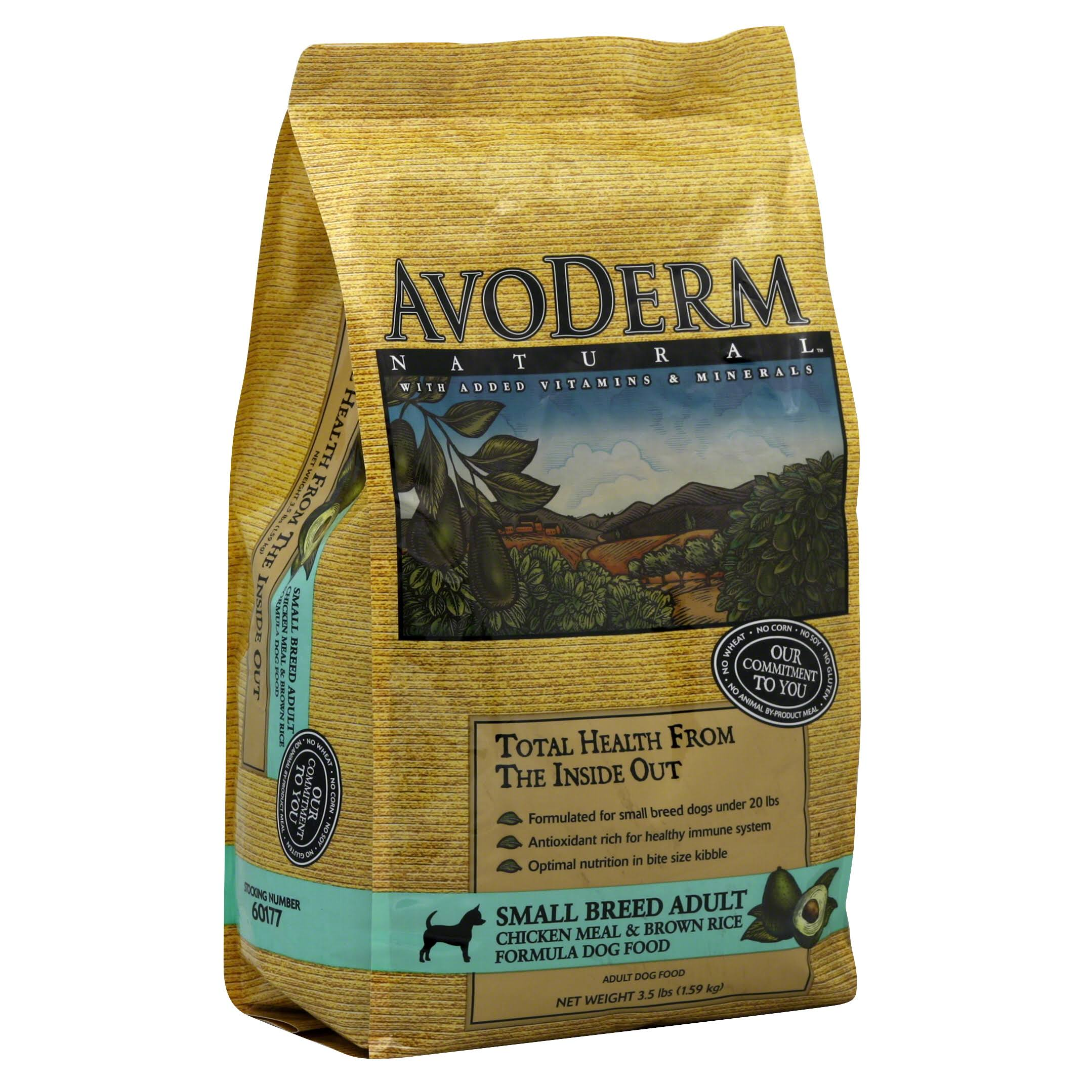 AvoDerm Natural Small Breed Dog Food