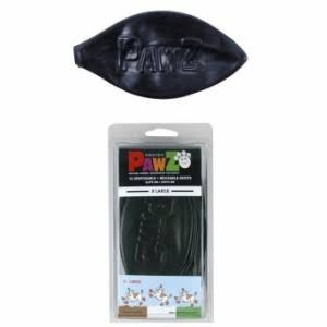 Protex Pawz Water-Proof Dog Boots - X-Large, Black, 4-5""