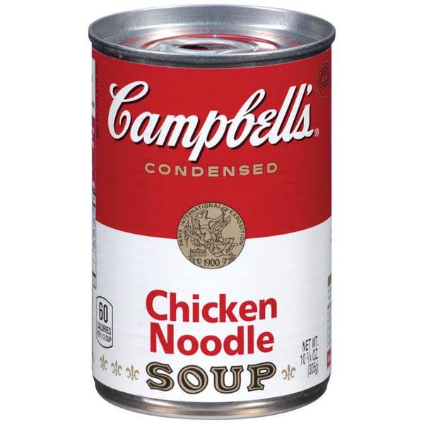 Campbells Chicken Noodle Soup Can 10.75oz
