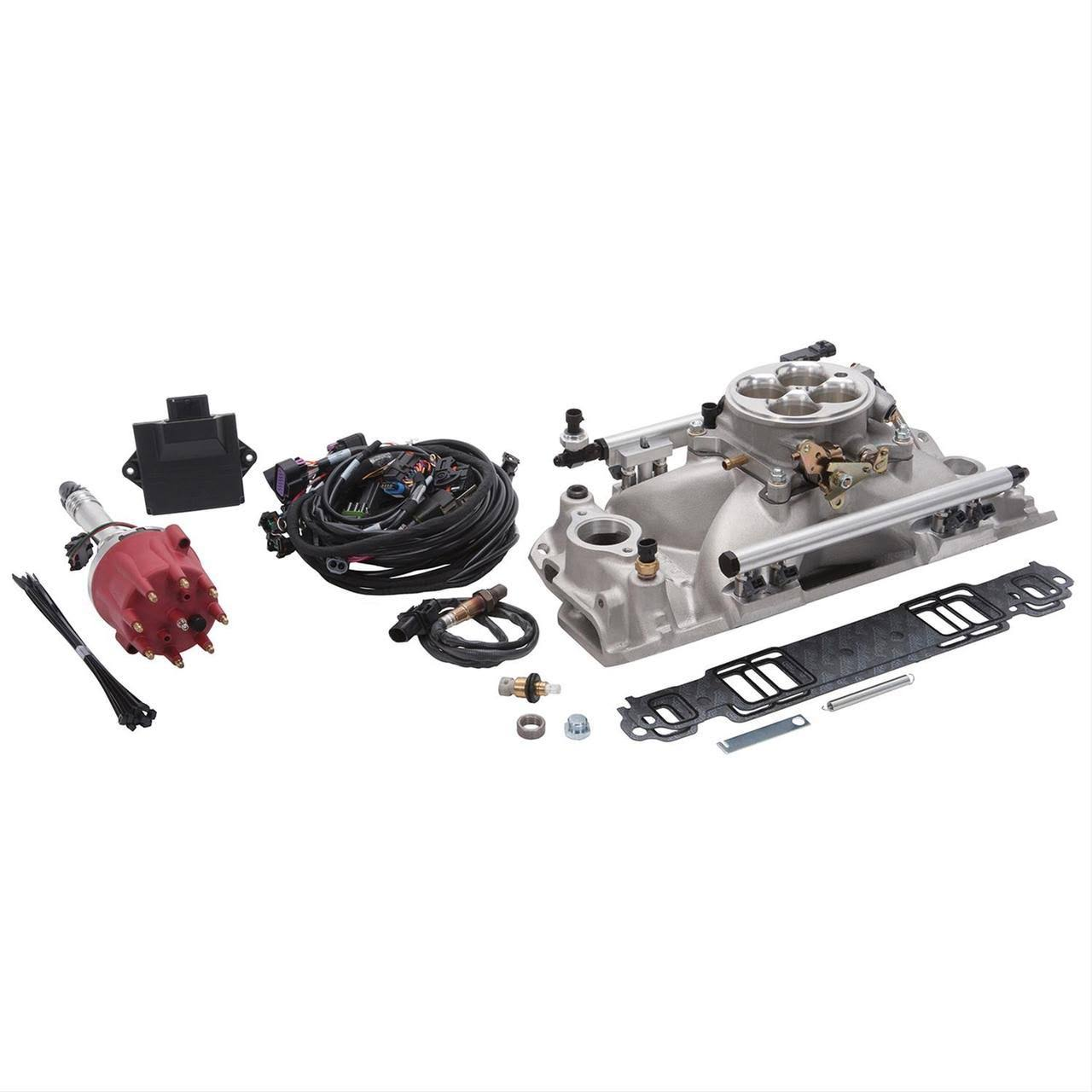 Edelbrock Pro-Flo 4 EFI System for 1986 & Earlier Small-Block Chevy Engines 357600