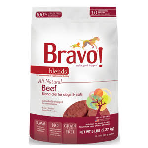 Bravo Blends Pet Food - Beef
