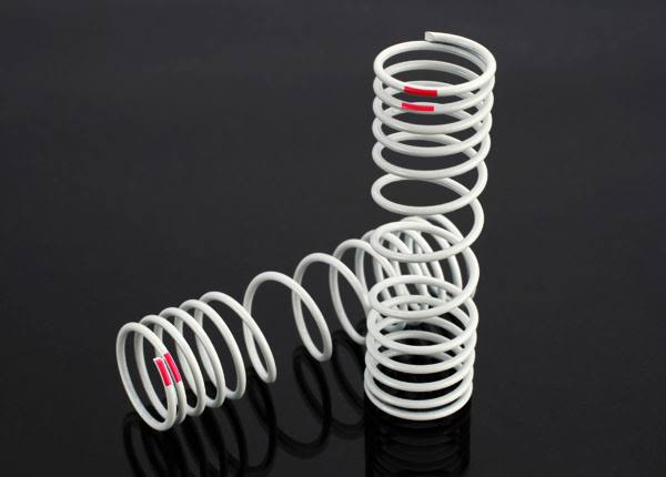 Traxxas 6867 Springs Slash 4x4 Rear +10% Rate Pink (2)