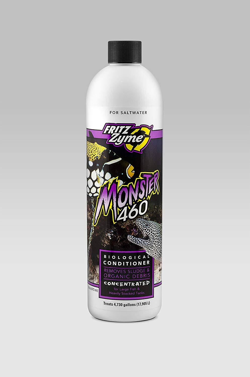 FritzZyme Monster 460 Saltwater Aquarium Biological Conditioner - 16oz