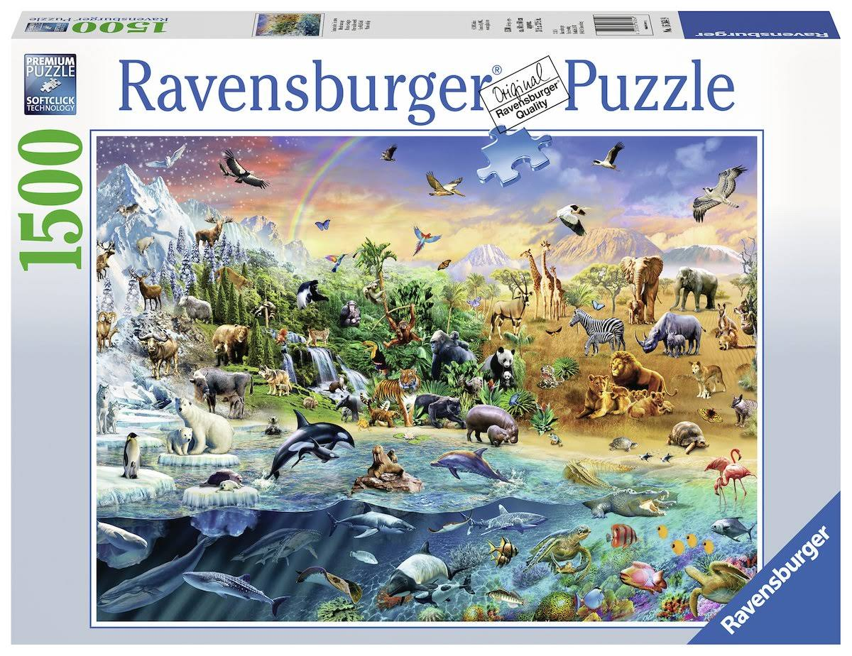 Ravensburger Our Wild World Jigsaw Puzzle (1500 Piece)