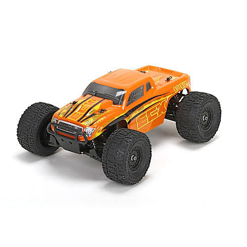 ECX Ruckus Rtr 4wd Electric Monster Truck - 1:18 Scale
