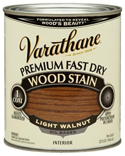 Varathane Wood Stain - Light Walnut