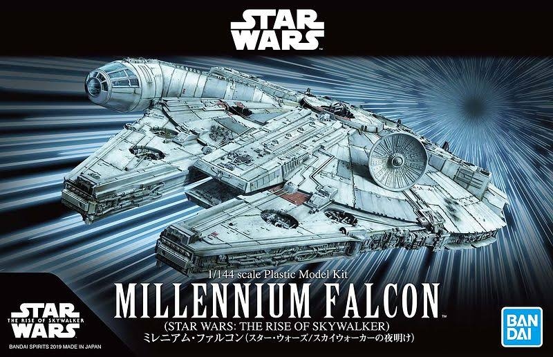 Star Wars: The Rise Of Skywalker Model Kit - Millennium Falcon, 1:144 Scale