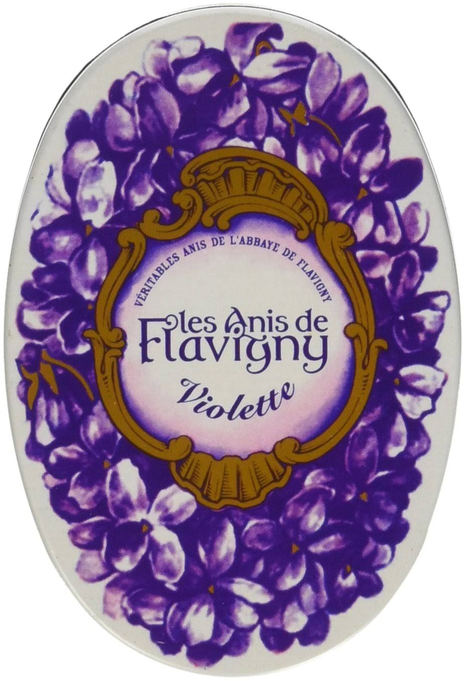 Violet Flavored Hard Candy 50 G by Les Anis de Flavigny