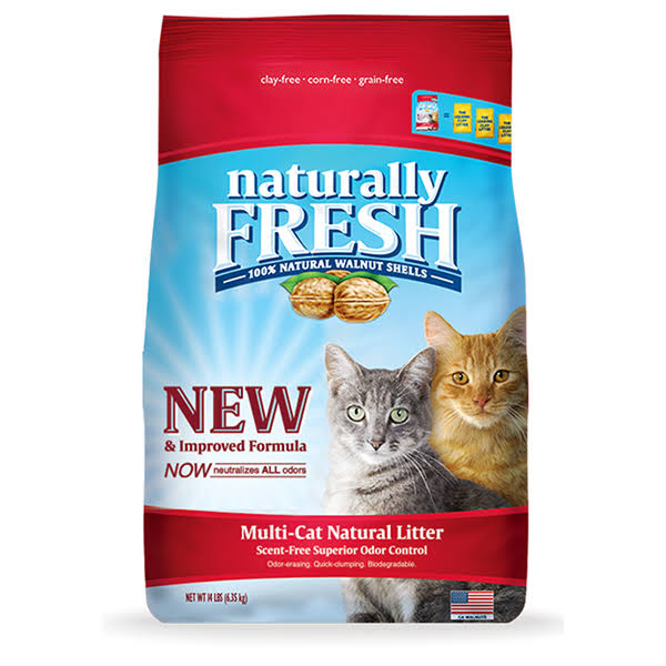 Naturally Fresh Multi Cat Clumping Litter - 26lb