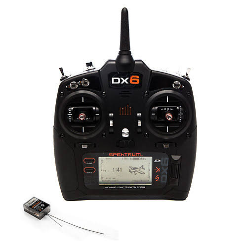 Spektrum Dx6 G3 System Transmitter - 2.4gHz, 6 Channel