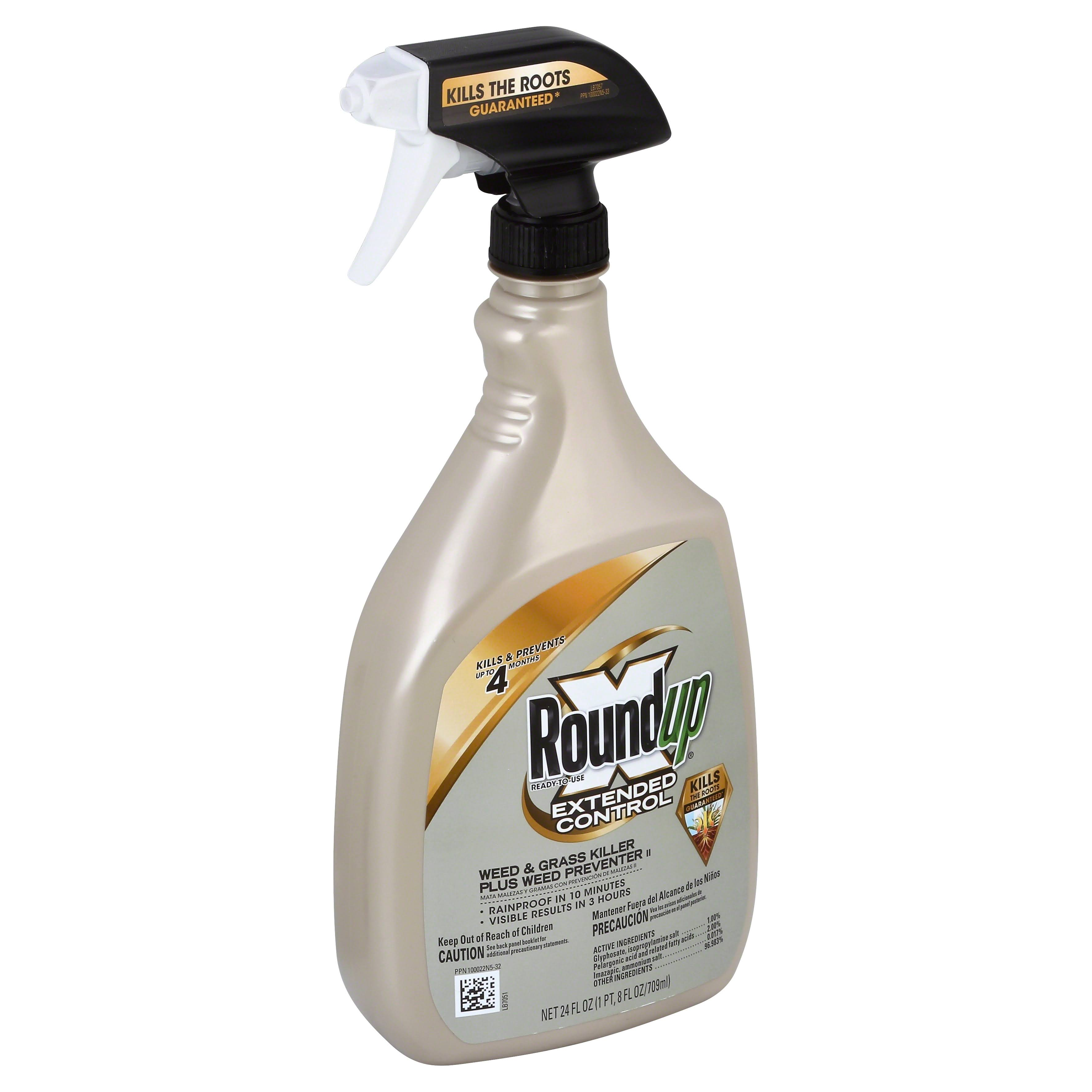 Scotts Roundup Extended Control Weed & Grass Killer Spray - 24oz
