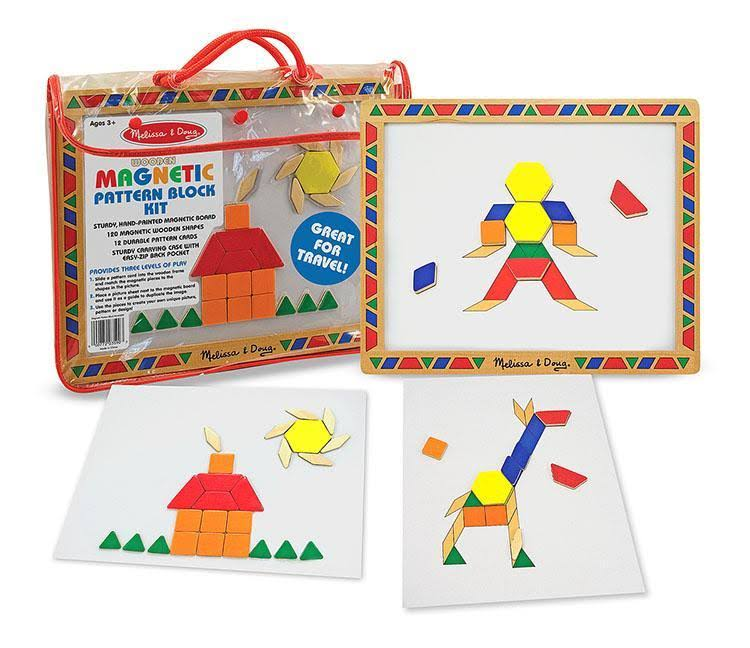 Melissa & Doug - Magnetic Pattern Block Set