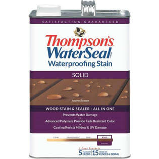 Thompson's WaterSeal Waterproofing Stain - Acorn Brown, 1gal