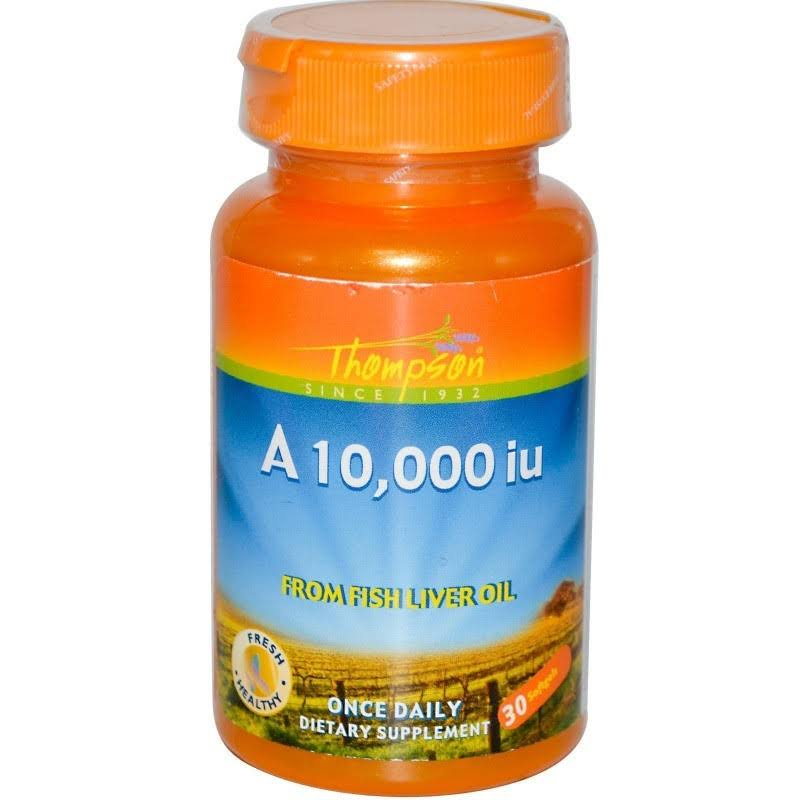 Thompson Vitamin A Dietary Supplement - 10000iu, 30ct