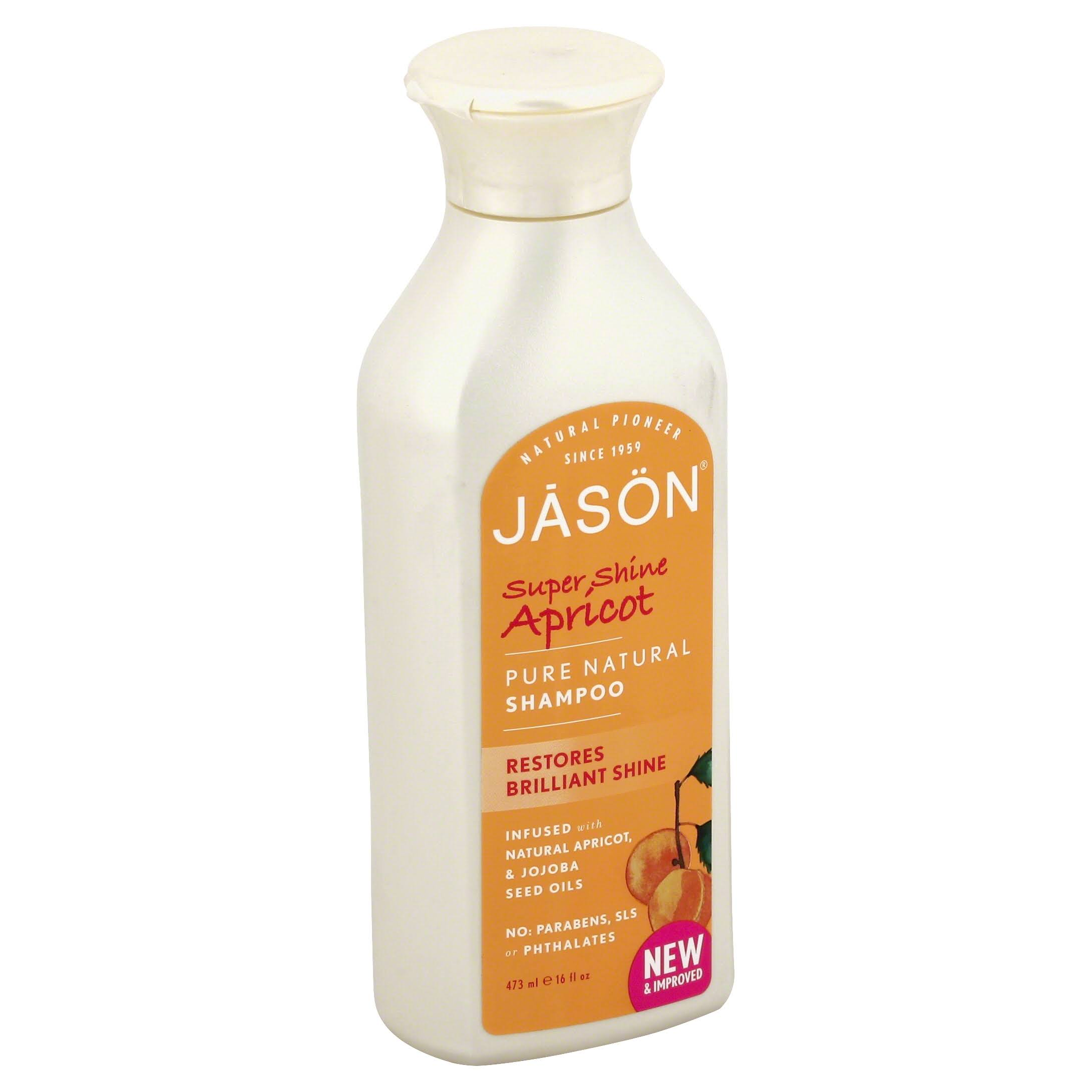 Jason Super Shine Natural Shampoo Apricot