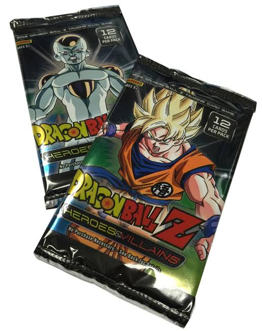 Dragon Ball Z TCG Heroes & Villains Booster Pack