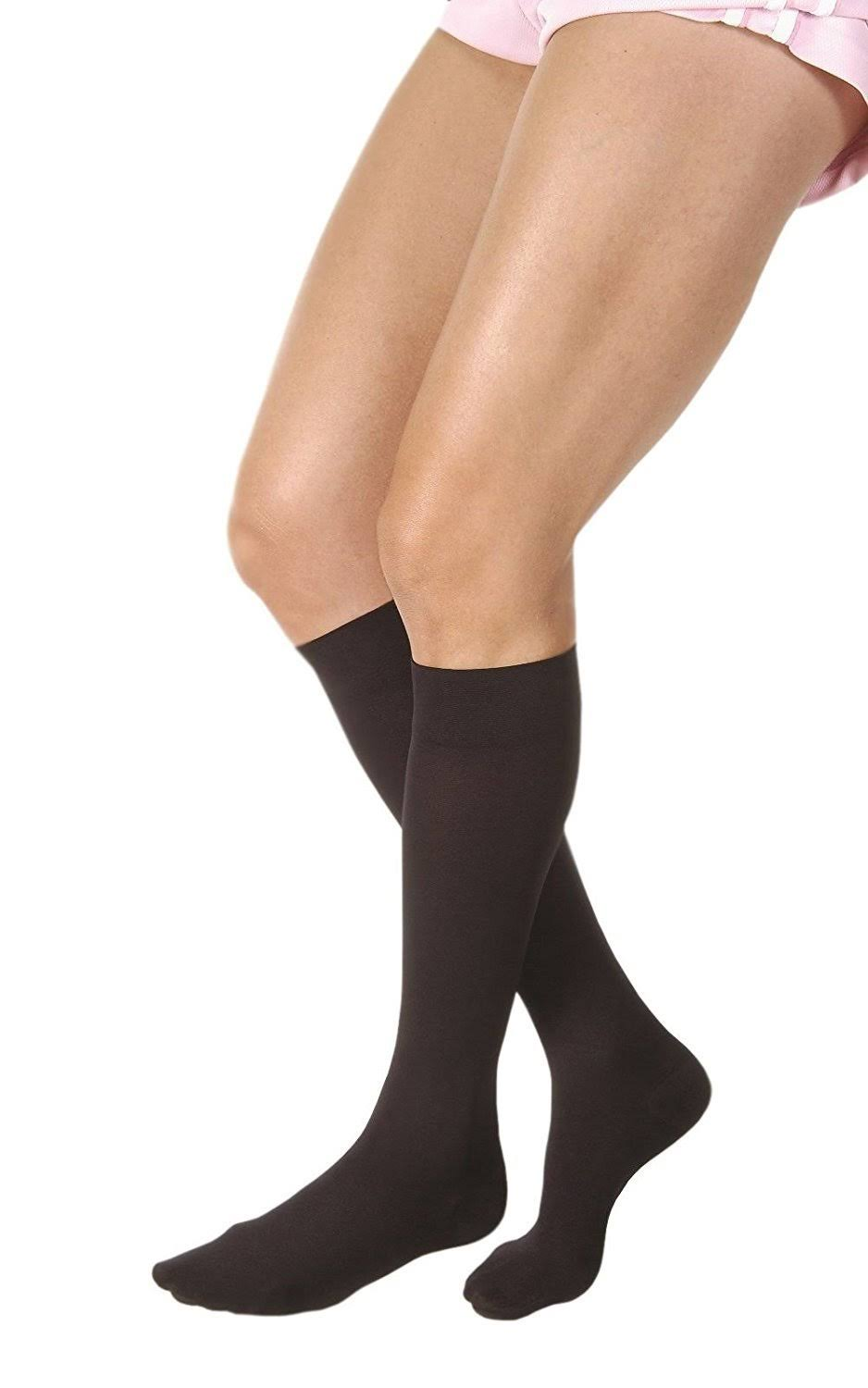 Jobst Relief 15-20 mmHg Knee High Large Black