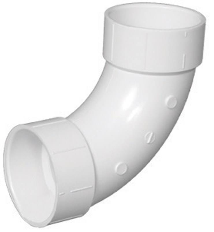 Charlotte Pipe Elbow - Pvc, 90 Degrees