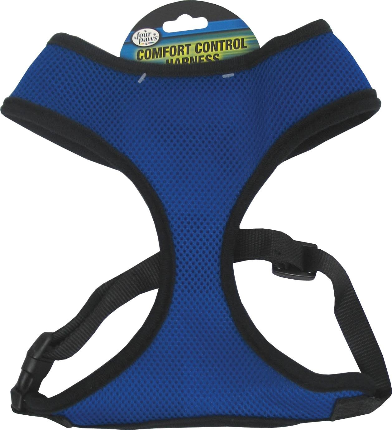 Four Paws Comfort Control Dog Harness - Blue