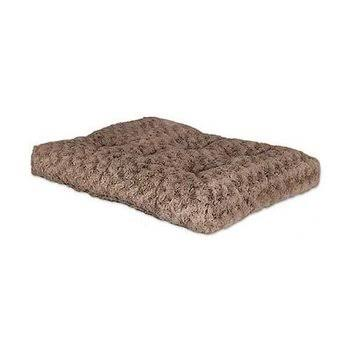 Quiet Time Deluxe Ombre Swirl Pet Bed - Mocha, 29x21 in