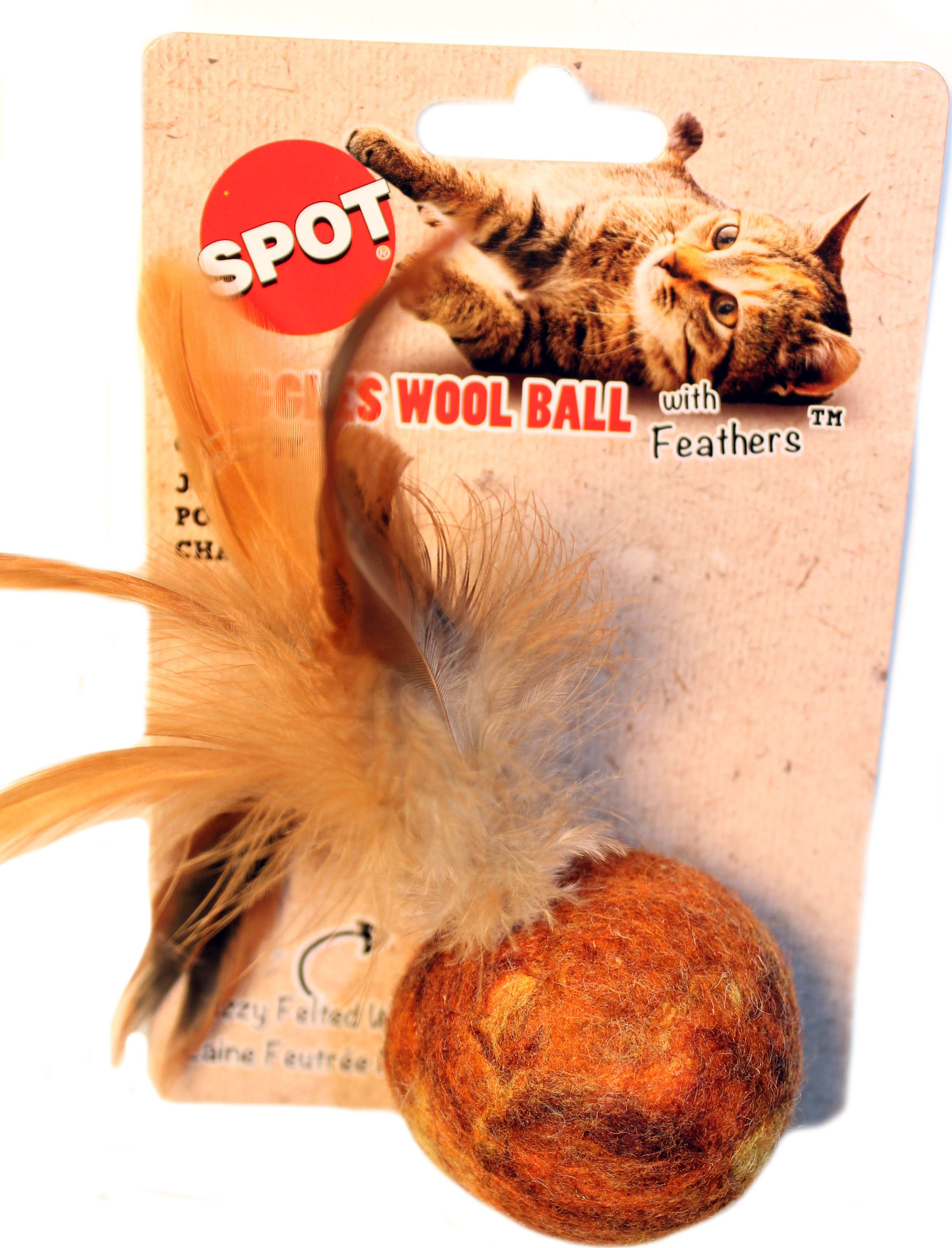 Spot Wuggles Wool Ball Cat Toy