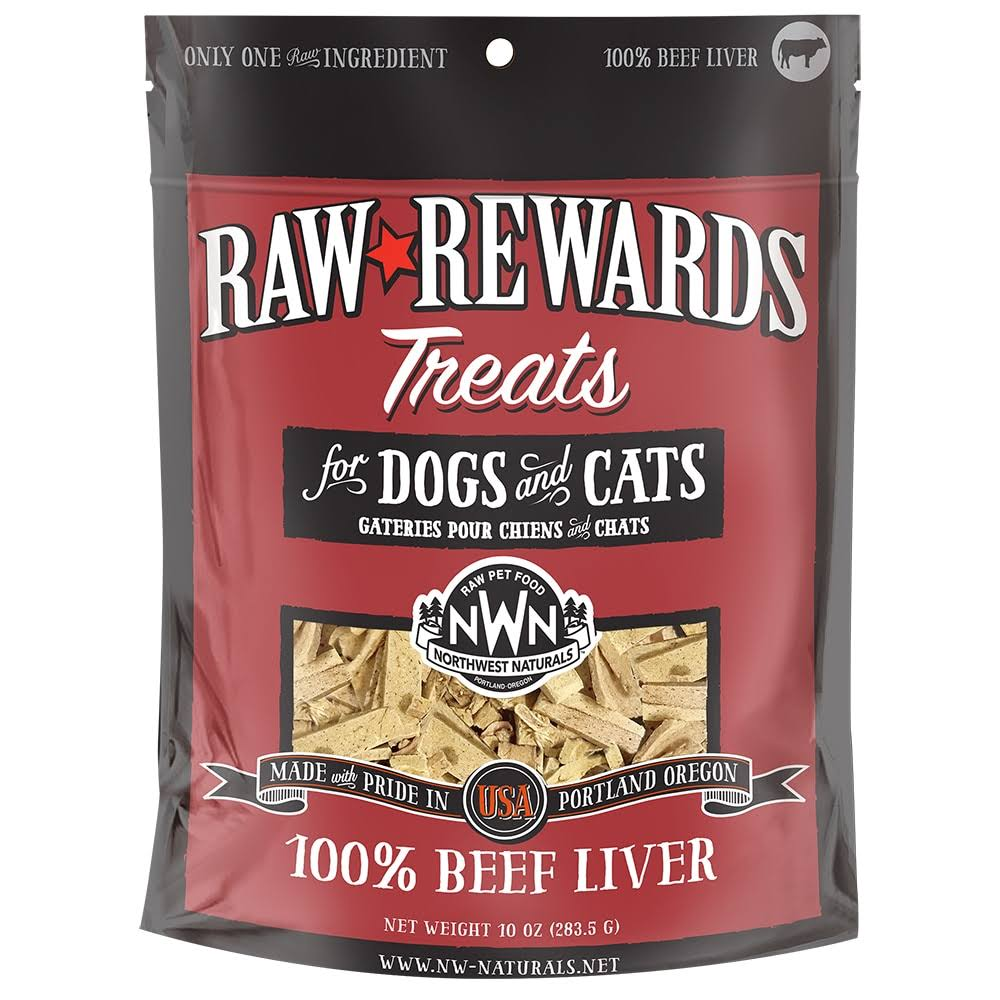 Northwest Naturals Raw Rewards Freeze Dried Beef Liver Cat & Dog Treat