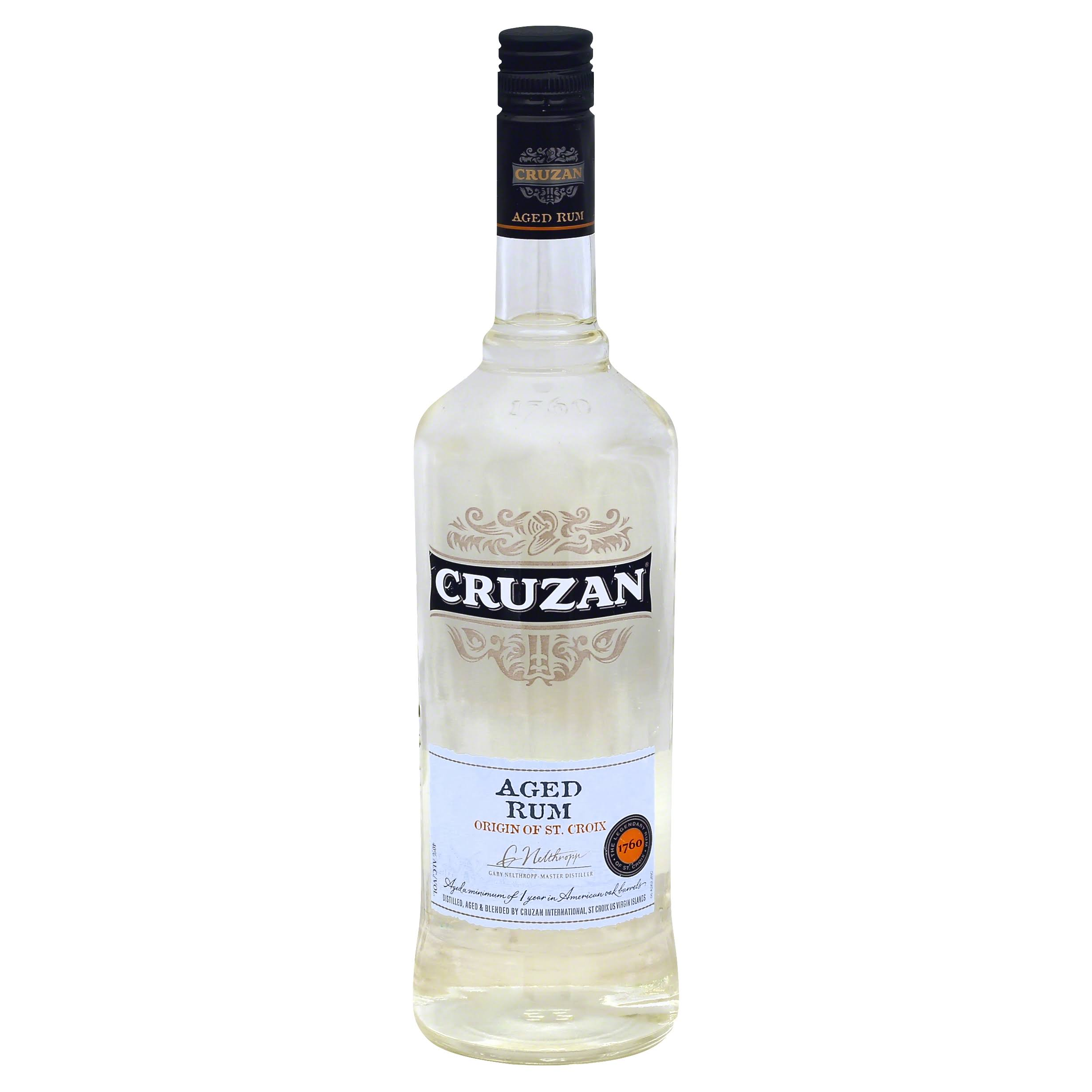 Cruzan Aged Light Rum - 750ml
