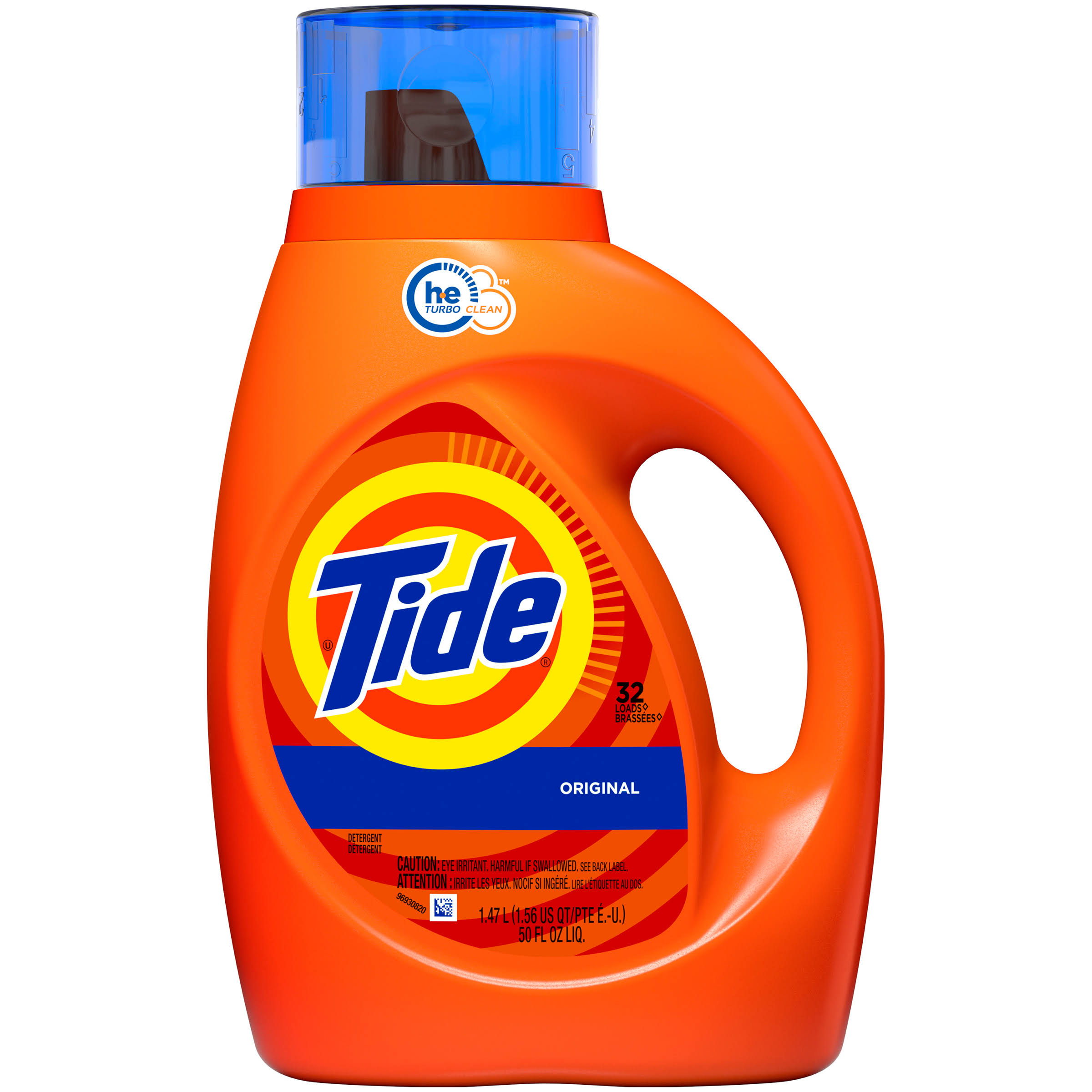 Tide HE Liquid Laundry Detergent - 50oz, Original Scent, 32 Loads